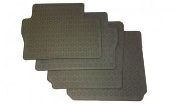Zafira B (2006-) Rubber Mats - 2nd & 3rd Row