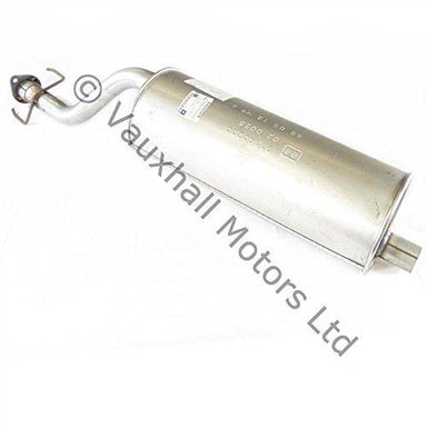 Genuine Vauxhall Fronteraa 2.0 Petrol Silencer And Center Exhaust Pipe 91140230