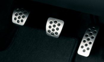 Insignia (2008-) Pedal Covers - Alloy Effect