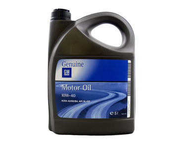 GM 10W-40 Semi Synthetic Engine Oil - 5 Litres