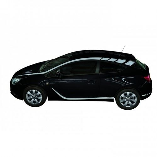 Astra GTC Foil Decals Kit- Silver Grey Metallic