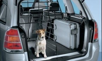 Zafira B (2006-) Space Divider Grid - For use with Dog Guard