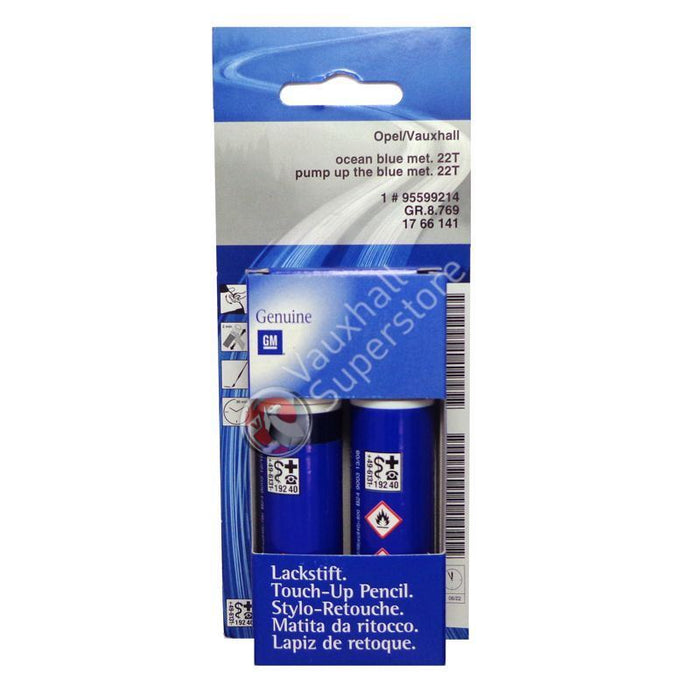 Pump Up The Blue Touch-Up Paint (colour code: GYG / 22T)