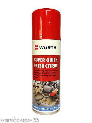 WURTH SUPER QUICK FRESH AIR CONDITIONING SYSTEM CLEANER FRESHENER - COCONUT (150ML)