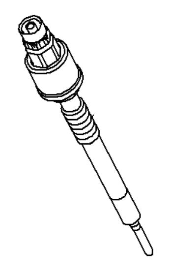 VAUXHALL GLOW PLUG - GENUINE NEW - 55590466