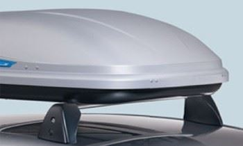Astra H 3 Door (2005-) Thule Roof Box - Ocean 80
