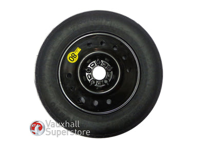 Antara 16 Inch Steel Wheel, 4J X 16 (Space Saver) With Tyre