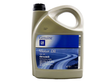 GM Dexos 2 5W-30 Fully Synthetic Engine Oil - 5 Litres