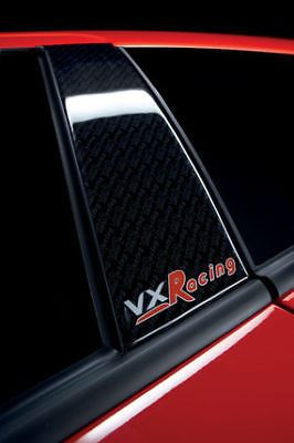 ASTRA H VXR RACING FRONT DOOR PILLAR STYLING DECAL SET