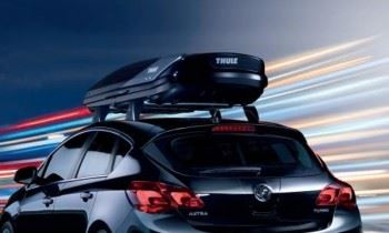 Astra H 3 Door (2005-) Thule Roof Box - Excellence
