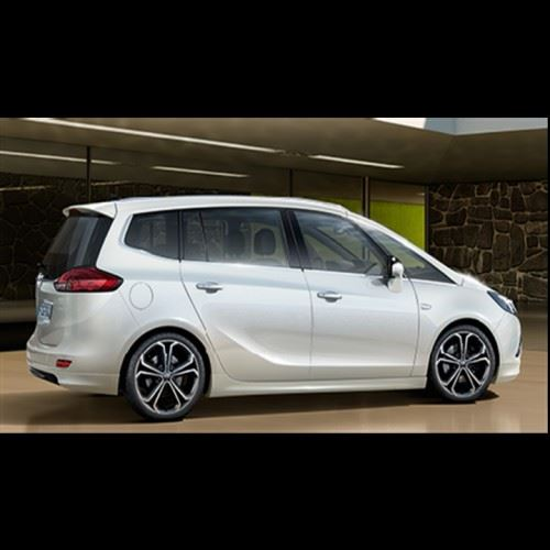 Vauxhall Zafira C Tourer VXR Line Exterior Styling Pack with Visible Exhaust
