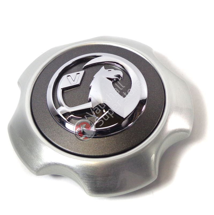 Alloy Wheel Centre Cap, Silver (New Style Griffin)