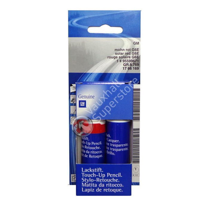 Solar Red Touch-Up Paint (colour code: WA-338X)