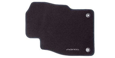 VAUXHALL Genuine ADAM - Floor Mats - Carpet Velour - Black with Blue Stitching - Mud/Rain/Snow/Footwell/Passanger/Driver/Rear/Front