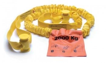 Combo Stretch Tow Rope - 2 Tonne Rated