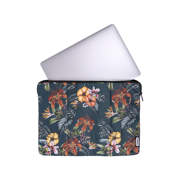 Estuche Laptop Estampado Flores