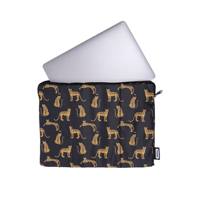 Estuche Laptop Estampado Leopardos