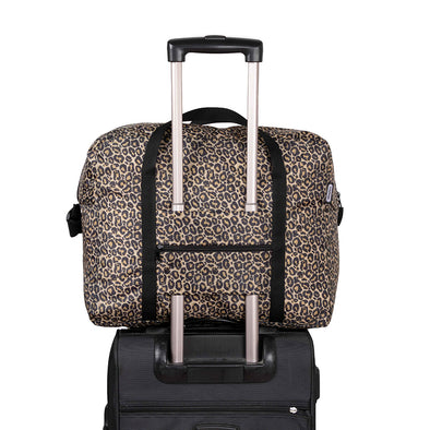 Maleta Equipaje de mano Plegable Estampado Animal Print Citybags Multicolor