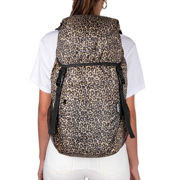 Morral Viajero Plegable Estampado Animal Print