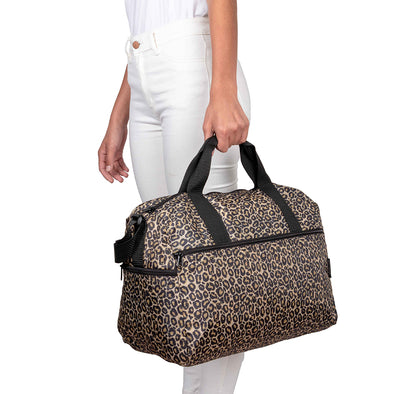 Maleta M Plegable Estampado Animal Print Citybags Multicolor