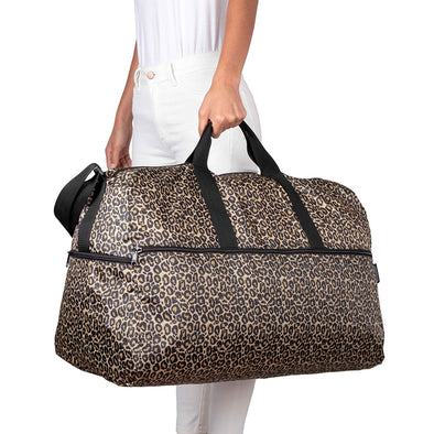 Maleta XL Plegable Estampado Animal Print Citybags Multicolor