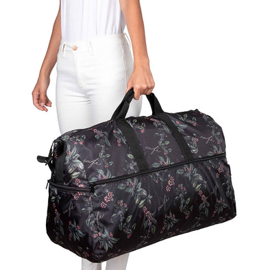 Maleta XL Plegable Estampado Café Citybags Multicolor
