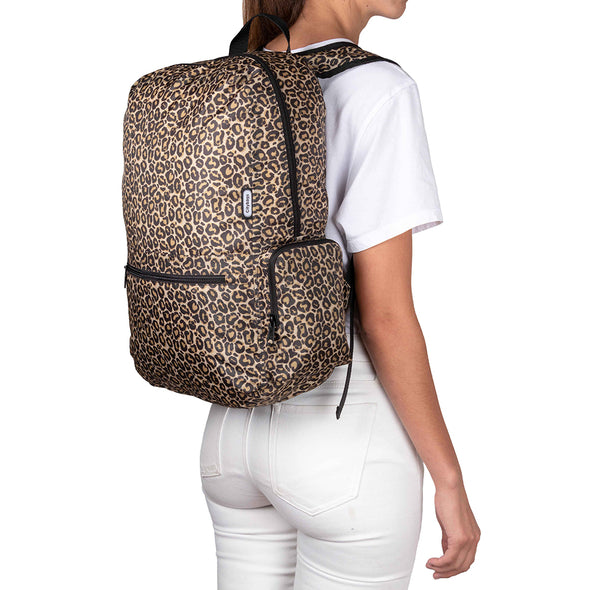 Morral Plegable Estampado Animal Print
