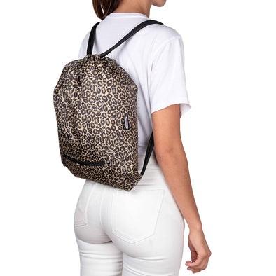 Tula Plegable Estampado Animal Print Citybags Multicolor