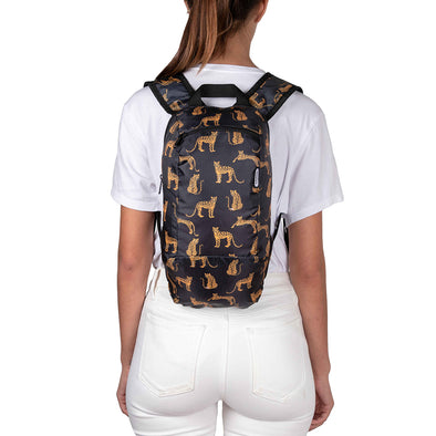 Morral Trekking Estampado Leopardos Citybags Multicolor