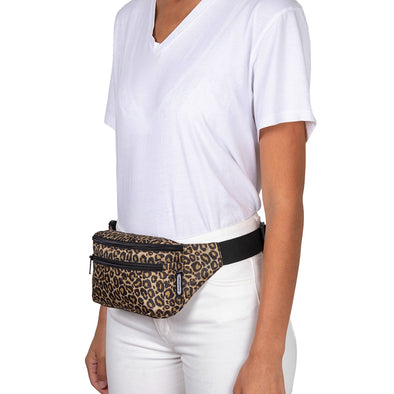 Canguro Plegable Estampado Animal Print Citybags Multicolor