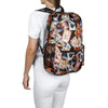 Morral Plegable Estampado Perros Citybags Multicolor