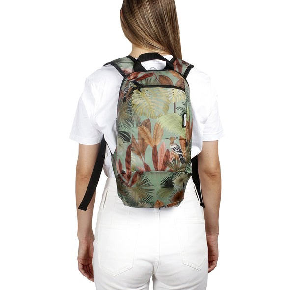 Morral Trekking Estampado Tropical Citybags Multicolor