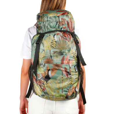 Morral Viajero Plegable Estampado Tropical