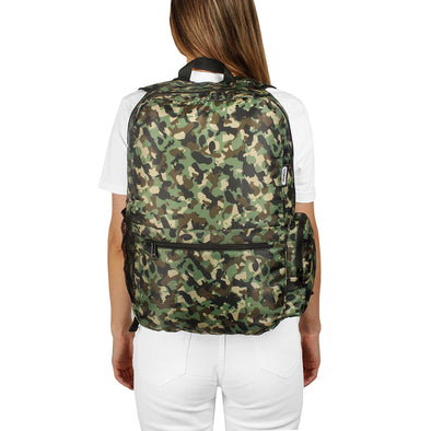 Morral Plegable Estampado Camuflado