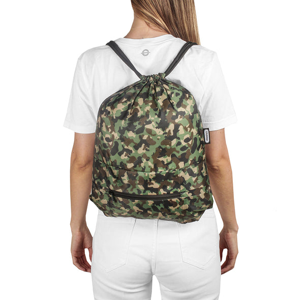 Tula Plegable Estampado Camuflado Citybags Multicolor