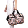 Maleta M Plegable Estampado Pajaros Citybags Multicolor