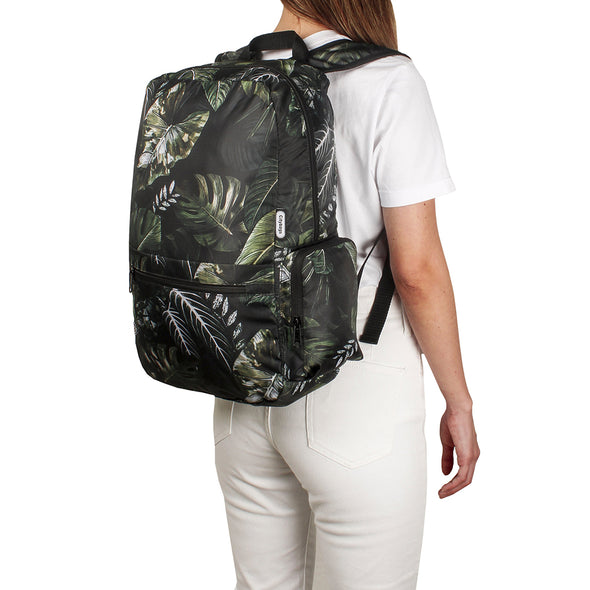 Morral Plegable Estampado Jungla Citybags Multicolor