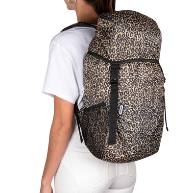 Morral Viajero Plegable Estampado Animal Print Citybags Multicolor