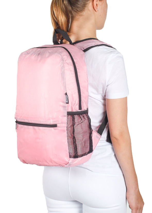 Morral Plegable Rosado