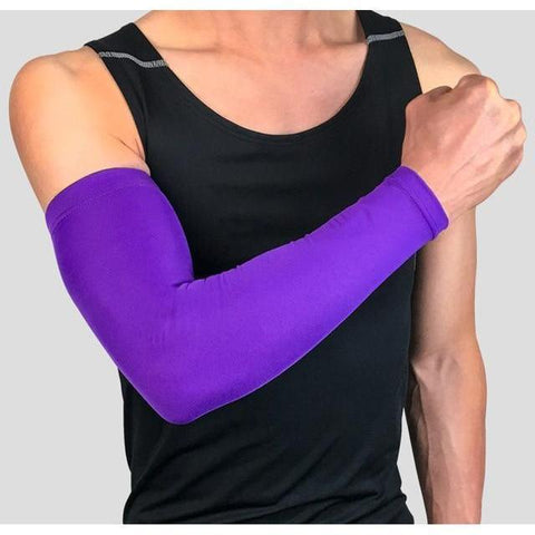 purple gaming sleeve - friction reduction-smooth aim-mouse movement - ConsistAim
