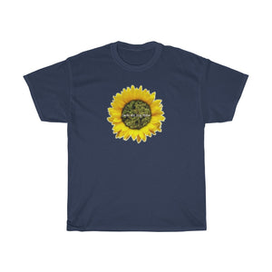 Smoke Well Stay Mellow Flower Tee