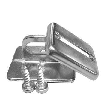 Chrome Screw Down Anchor Plate