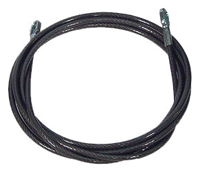 8 Foot Black Security Cable