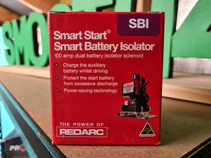 Redarc SBI12 12V 100A Dual Battery Isolator