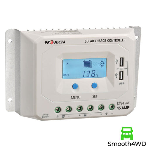 Projecta SC245 45A 12V/24V Automatic 4 Stage Solar Controller