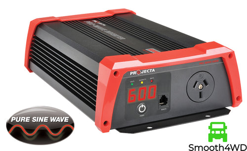 Projecta 12V 600W Pro Wave Pure Sine Inverter