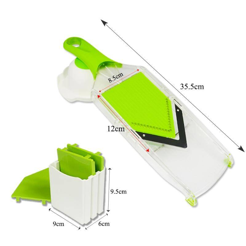 Green Life ™ Mandoline Slicer with 4 Blades