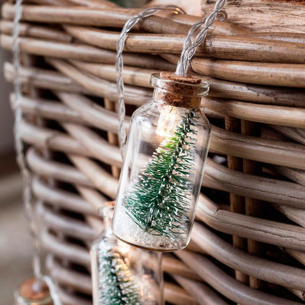 Christmas Wishing Bottle LED String Lights