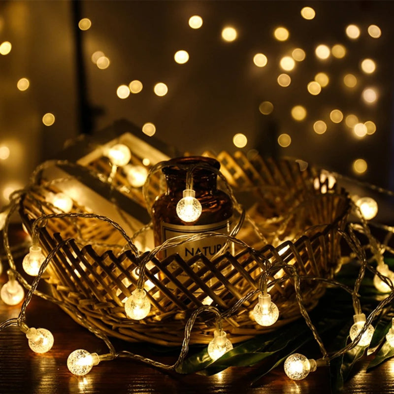 Sparkling Garlands Ball LED Lights