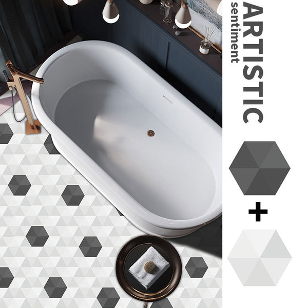 10Pcs/ Set Luxury Hexagon Decal